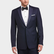 Navy Blue Men Suits for Wedding Custom Made Groom Tuxedos Pants Costume Homme Mariage 2Piece Terno Masculino