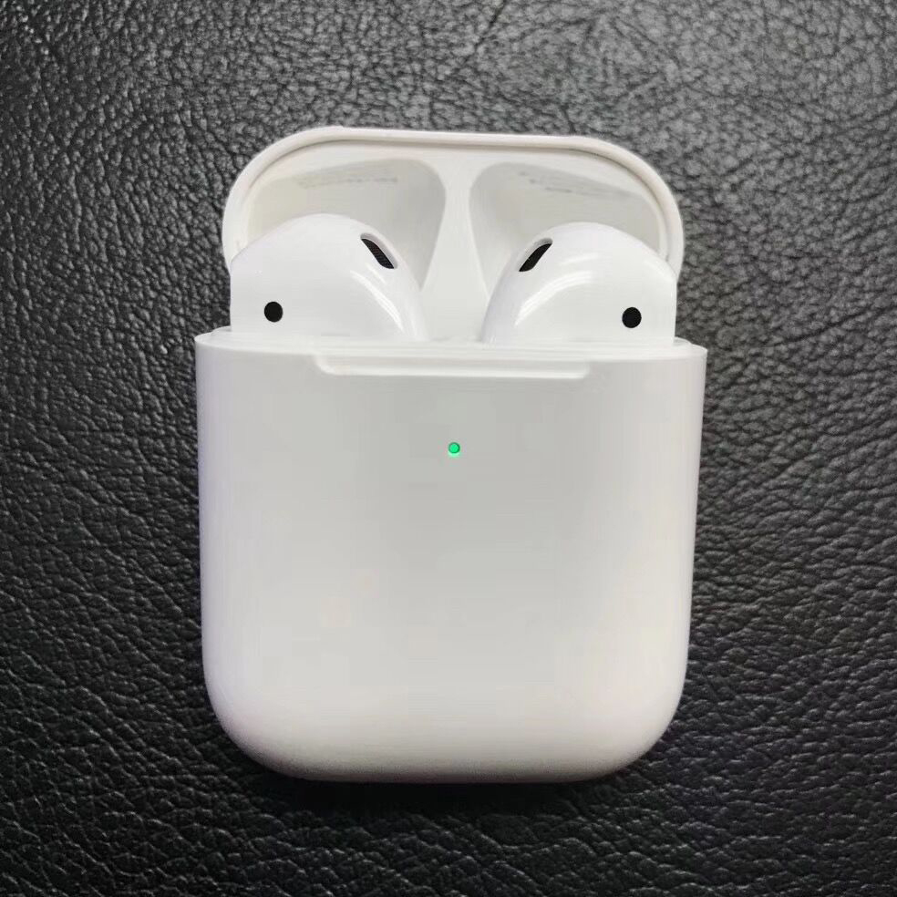 2019 nouveau 1:1 copie pour Air pods2 sans fil Bluetooth écouteur 5.0 super basse Pop-up boîte de charge pour iPhone 6 6 s 7 8 Plus X Xs