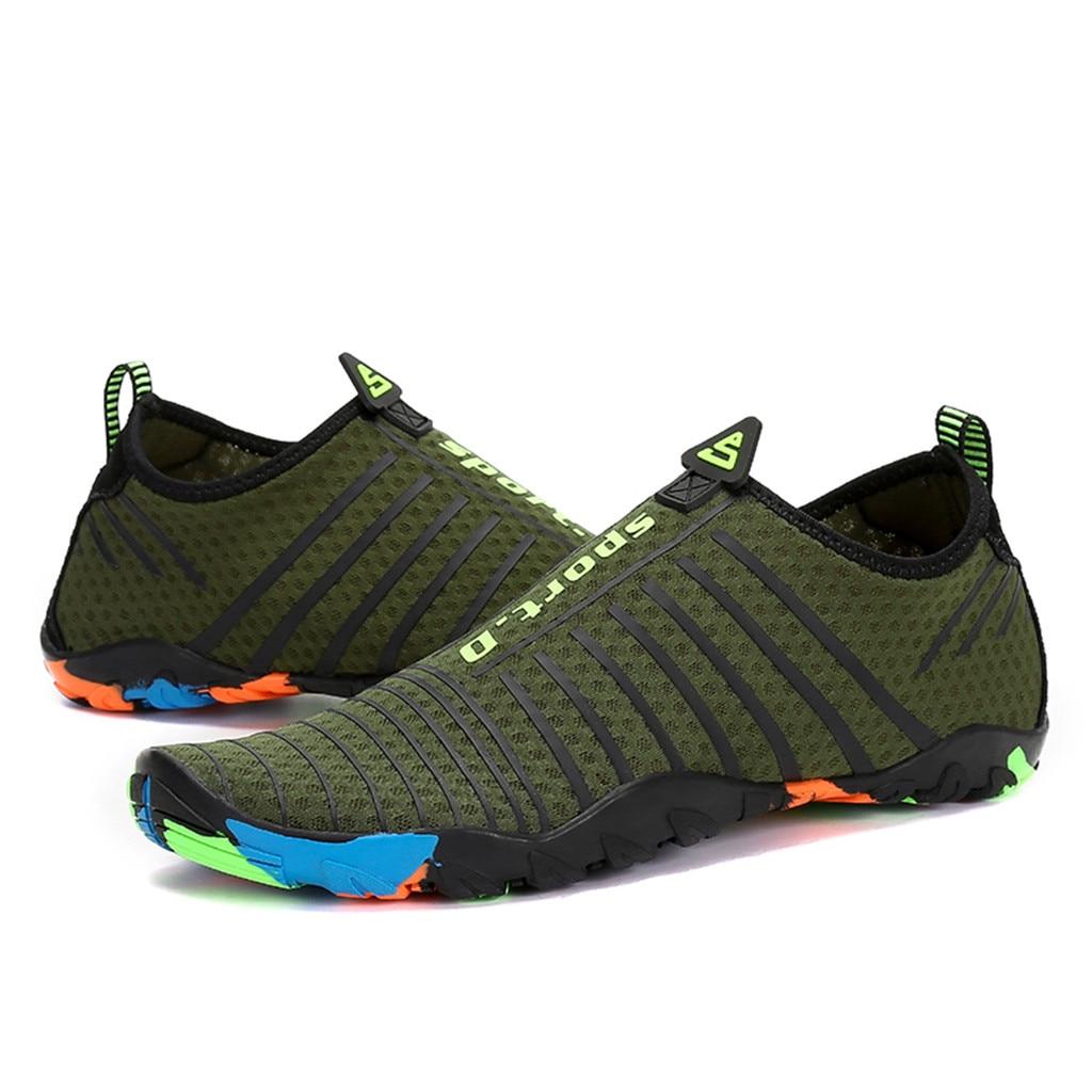 US Men/'s Water Sports Aqua Shoes Quick-Dry Slip-on Swim Beach Outdoor shoes