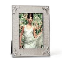 5X7 Photo Frame With Pearl Expoxy And Classic Flower Black Velvet Backing Free Shipping