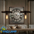The wheels Modern  pendant light  iron lamp black cage lampshade restaurant bar coffee dining room hanging light fixture