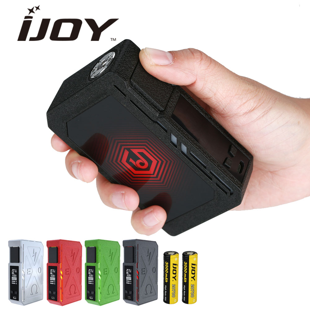 Original IJOY EXO PD270 207W 20700 TC MOD with 6000mAh Built-in Battery & 207W Max Output & Unique Wrinkle Finish E-cig Vape Mod original ijoy captain pd270 box mod e cigarette vape 234w ni ti ss tc vapor power by dual 20700 battery new colors