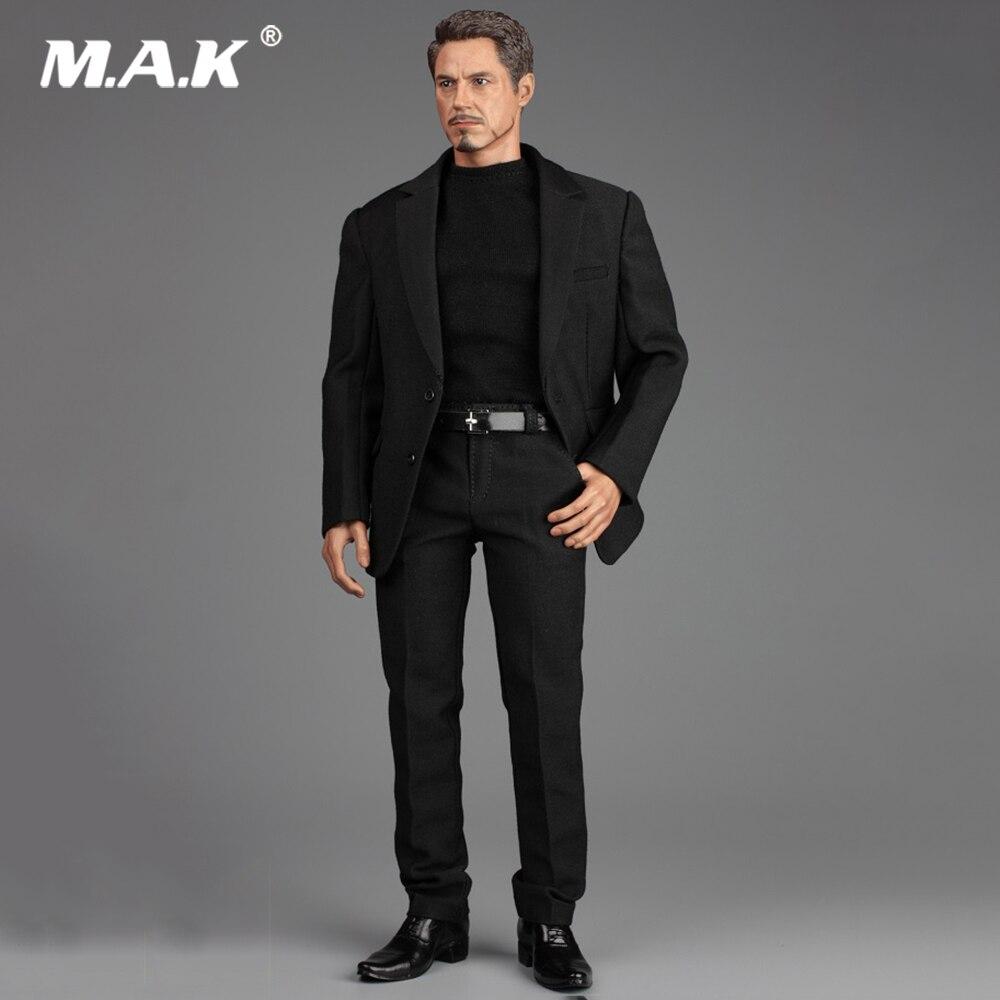 1/6 Maschio Figura Accessorio A013 Iron Man TONY Gentleman Suit Set & Scarpe Modello per 12 ''Action Figure Modello accessori del corpo-in Action figure e personaggi giocattolo da Giocattoli e hobby su  Gruppo 2