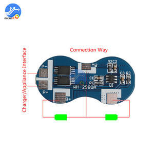 Image 4 - 2S Li ion 18650 Lithium Battery Charger Protection Board 7.4V Overcurrent Overcharge Overdischarge Protection 4A 2 Series BMS