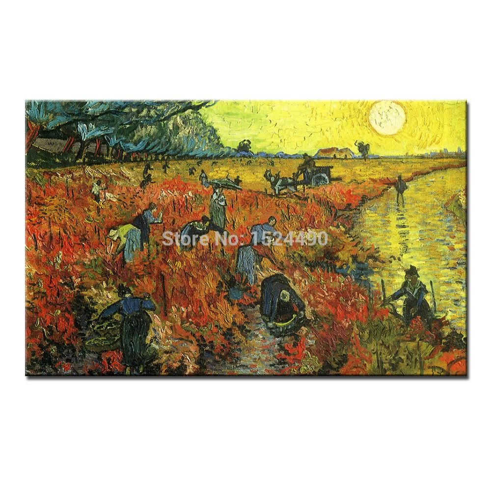Super Large Single Picture Landscape Vineyard Canvas: Online Buy Wholesale Vineyard Vines From China Vineyard