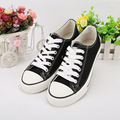 New unisex tendon bottom flat with canvas shoes breathable and comfortable student lace-up low upper casual shoes