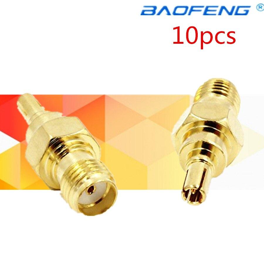 10 Stücke Sma Weiblichen Zu Crc9 Männlich Rf Adapter Stecker Für 3g 4g Modem Antenne