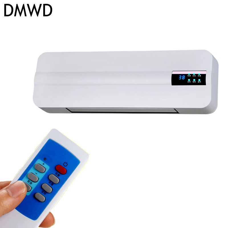 DMWD Wall-mounted remote control heater home energy saving and heating heating fan bathroom air conditioning hot air heating