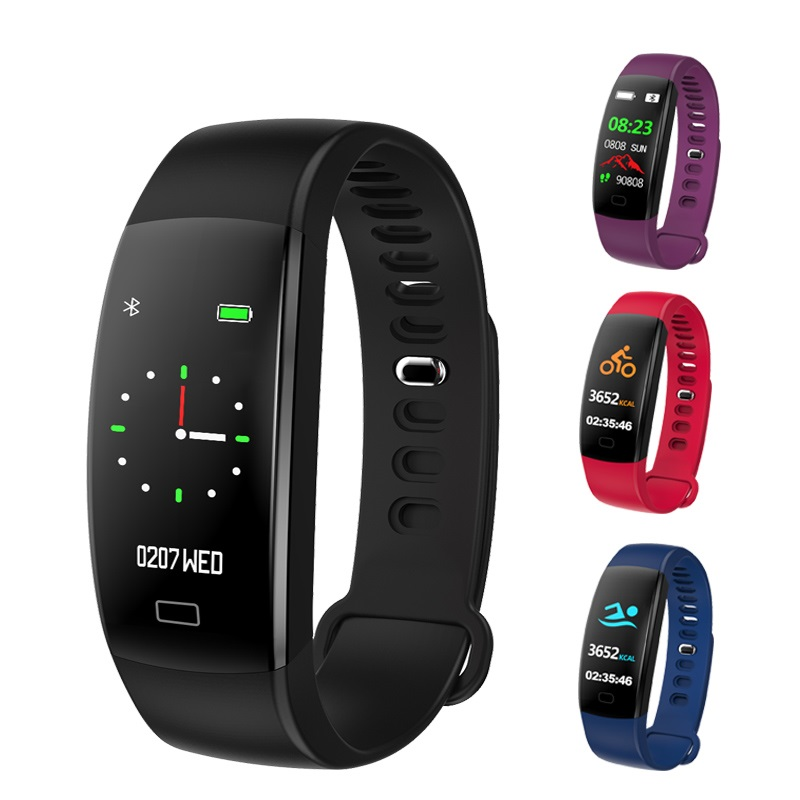 2018 Smart Armband F64 Smartband wasserdichte schlaf monitor Fitness Armband Smart Uhr Anruf Alarm Für iOS Android PK Miband 3