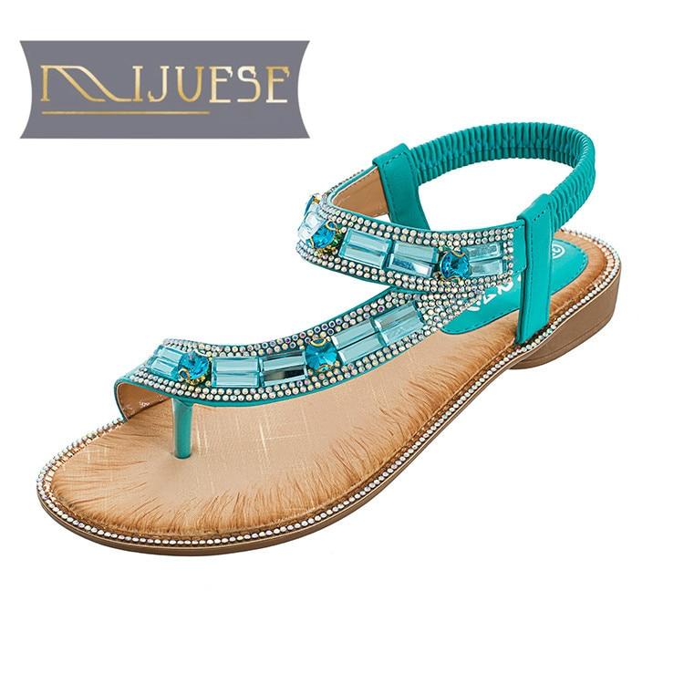 MLJUESE 2018 կանացի սանդալներ Ամառային - Կանացի կոշիկներ