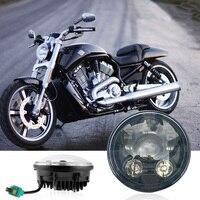 5 3/4 Motorcycle Led Headlight H4 5.75INCH for Harley Sportster 883 Harley Street 750 E053