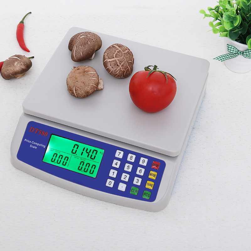 DT580 30kg digital weighing scale LCD Electronic Mini personal electronic digital scale 1 5 lcd digital electronic scale 2 x aaa