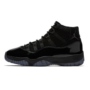 198043663b2 Jordan 11 Basketball Shoes Cap And Gown all black Winter Shoes Lace-up Warm  Outdoor Sport Shoes