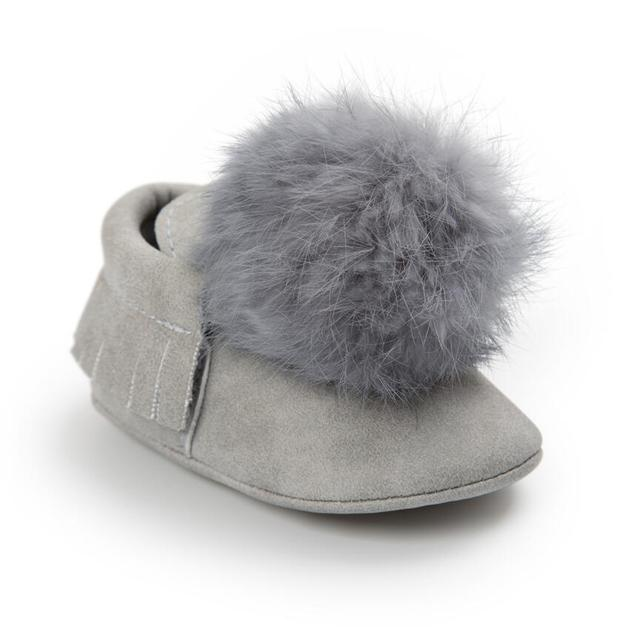 Fashion Newborn Boy Girl Baby Moccasins Soft Moccs Shoes Toddler Infant First Walkers Bebe Fringe Soft Soled Boots PU Leather