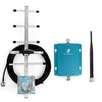 Wholesale 850MHz GSM Repeater Booster Mobile Phone Power Amplifier with 9dBi 10 meters Cable Yagi Antenna