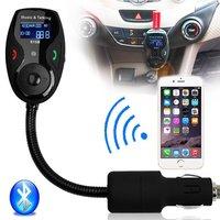 Univeral LCD Display Bluetooth Wireless Car MP3 Player FM Transmitter Modulator Radio Adapter Hands Free Car