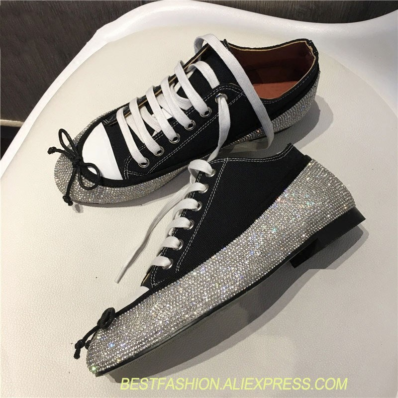 leather rhinestone casual shoes ladies round head lace bow star with the flat shoes ladies denim fashion casual shoes women the casual vacancy