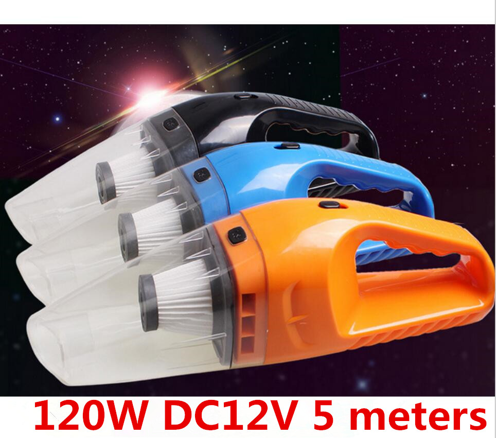 DC12V Car Home Use Vacuum Cleaner Dust Catcher For Dry Wet Dust Dirt Cordless Handheld Dust Collector Portable Vacuum Sweeper