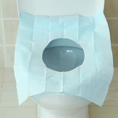 5 pz New Portable 100% copertura sedile del water stuoia Impermeabile usa e gett