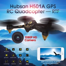 Hubsan X4 H501A WIFI Brushless FPV RC Quadcopter Drone dengan 1080 P HD Kamera GPS Waypoint Headless Modus RTF