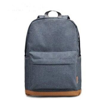 121c3ccdbe01 TINYAT для мужчин холст рюкзак серый повседневное рюкзаки 15 дюймов  ноутбука Рюкзаки подросток колледж студент школьные ранцы женщин Mochila