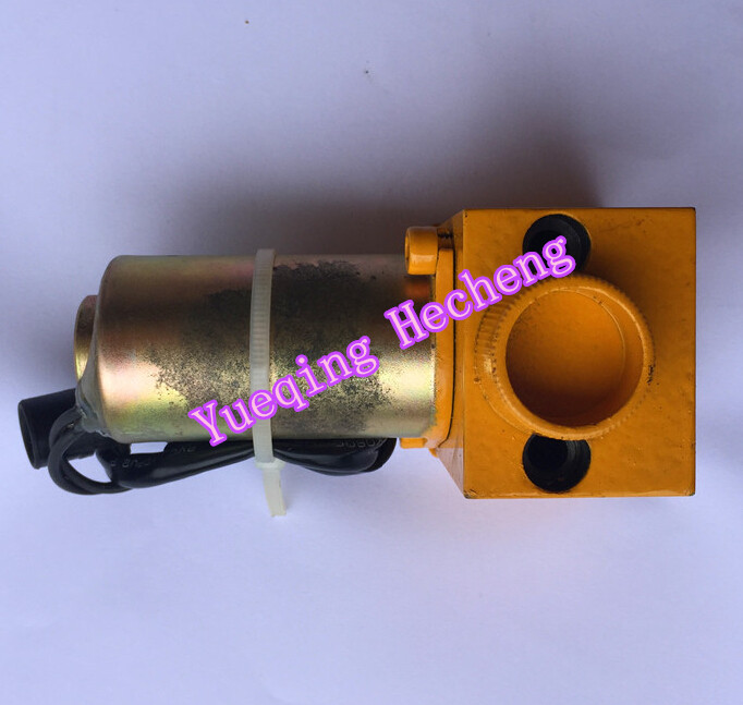 E320C E320B hydraulic pump solenoid valve for 139-3990 5l-8638 high quality excavator spare parts e320c pump solenoid valve 139 3990 5i 8638