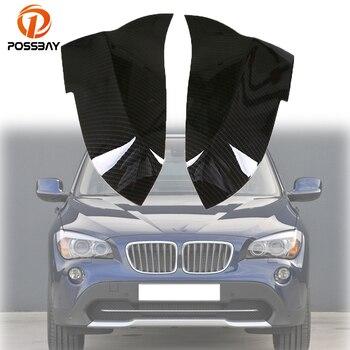 POSSBAY Gương Xe Ô Tô Vỏ Da Ốp Lưng Tự Động Gương Nắp cho XE BMW 1-Series 2-Series 3-Series 4-Series i3 Hatchback I01 2014-nay