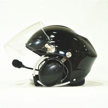 Mejor cancelación de ruido Alimentado Parapente Paramotor cascos cascos Casco PPG completa cancelación de ruido auriculares