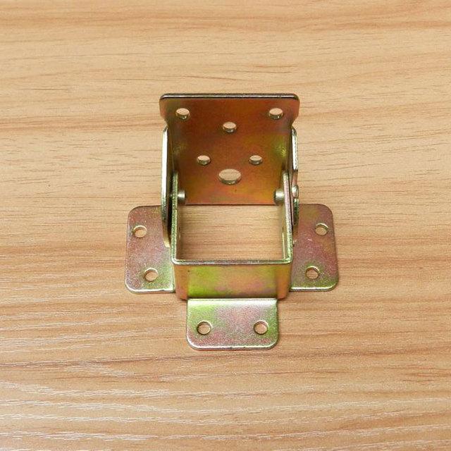 Furniture Leg Folding Hinge Connector Hardware Accessories Table Foot No Brake Buckle 4pcs