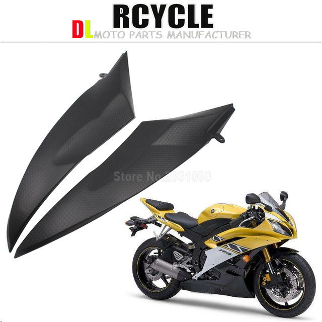 US $19 0 5% OFF|Tank Side Covers Panels Fairing For Yamaha YZF R6 2006 2007  YZF R6 06 07 YZFR6 Tank Side Cover Panel-in Covers & Ornamental Mouldings