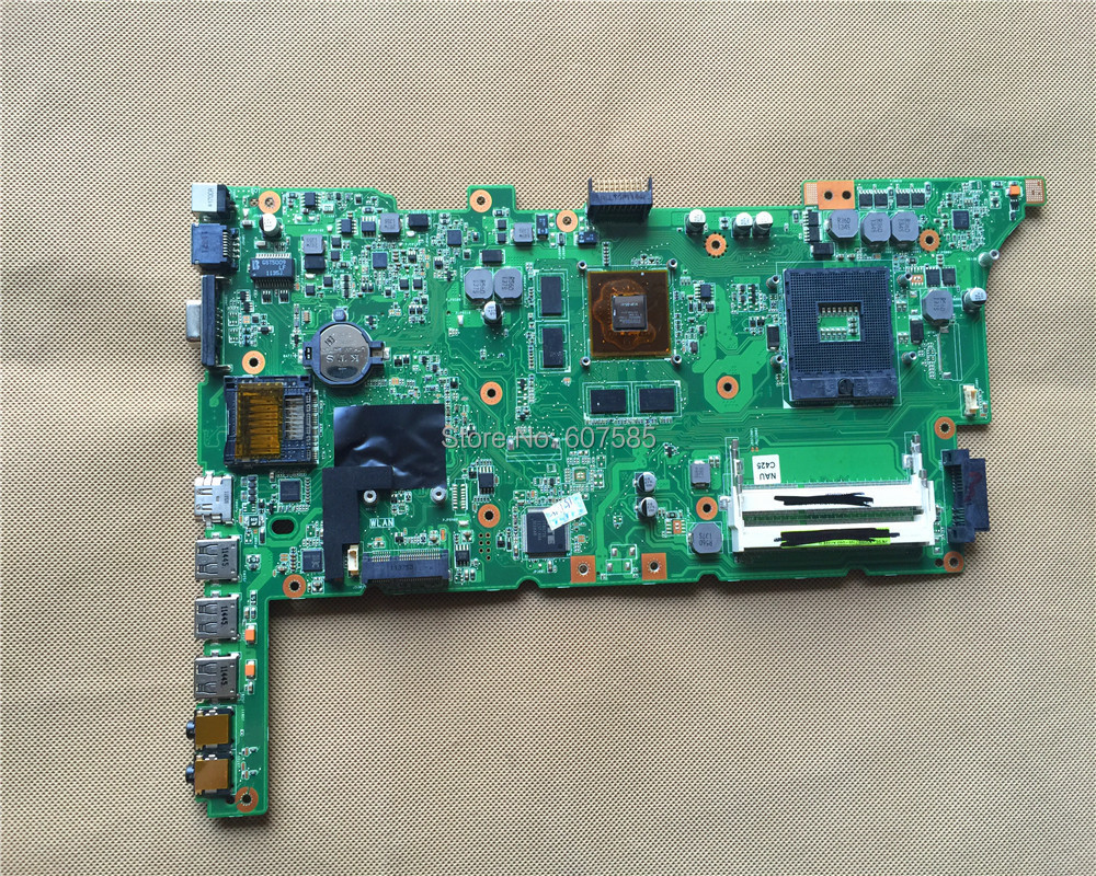 For ASUS K73SV Laptop motherboard GT540 K73SD REV:2.3 100% tested