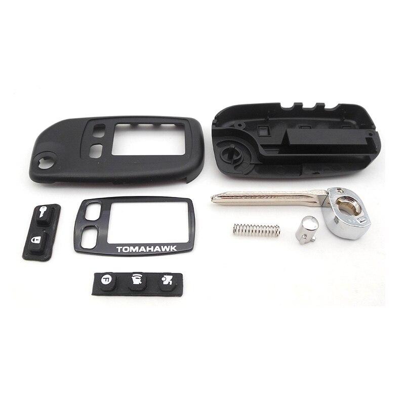 SHERIFF Key case for Tomahawk TW9020 TW9030 uncut blade fob cover TW9010 folding car