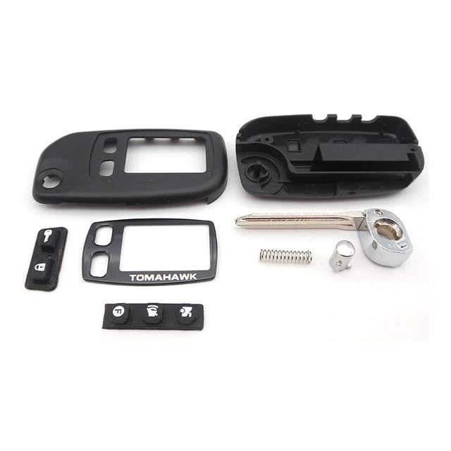Key case for Tomahawk TW9010 TW9020 TW9030 uncut blade fob case cover TW9010 folding car flip remote free shipping