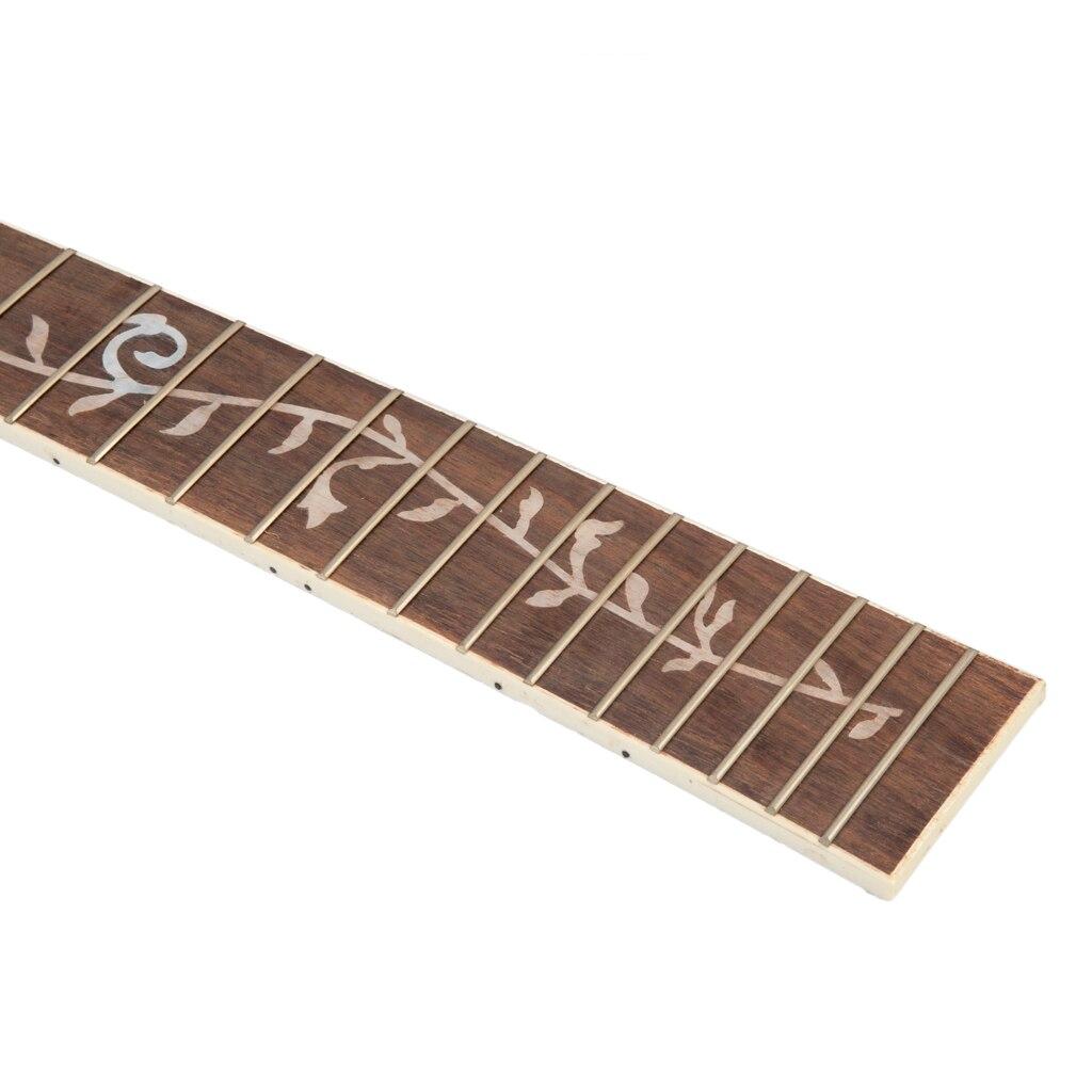 NAOMI 2 pcs guitare Fretboard acoustique Folk guitare palissandre Fretboard touche pour 41 ''20 Fret pièces de guitare accessoires nouveau - 2