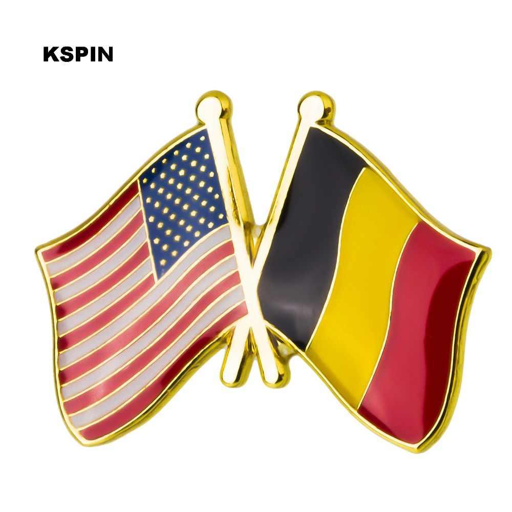 Amerika Serikat Lencana untuk Ransel Pin Bros Set Dekoratif Tombol untuk Pakaian