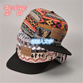Worldwide Free 2016 new letters graffiti hat men and women retro geometric pattern color baseball cap snapback hip-hop