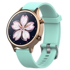 Image 5 - 18mm סיליקון רצועת רצועת השעון עבור Ticwatch c2 Smartwatch עלה זהב גרסה החלפת נשים של צמיד צמיד להקות