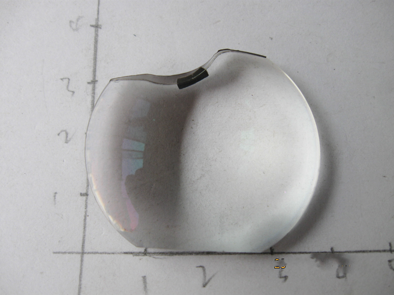 For OPTOMA projector DP7264 convex lens condenser lens glass lens ... for Condenser Lens Projector  76uhy