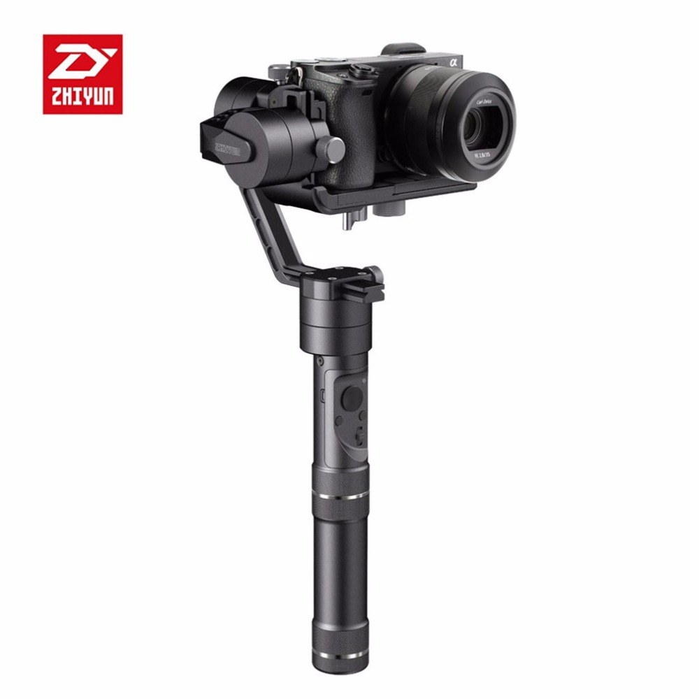 Zhiyun Crane M 3-Axle Handheld Stabilizer Gimbal for DSLR Cameras Support 650g Smartphone for Gopro 3/5 zhiyun crane m 3 axle handheld stabilizer gimbal remote controller case for dslr camera support 650g smartphone camera f19238 a