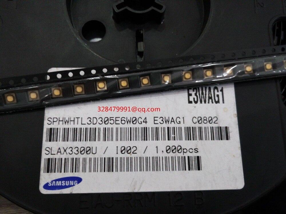 20Pcs/lot SPHWHTL3D305E6W0G4 3535 Warm white 3W 2700-2800K 110-115LM High power LED Samsung