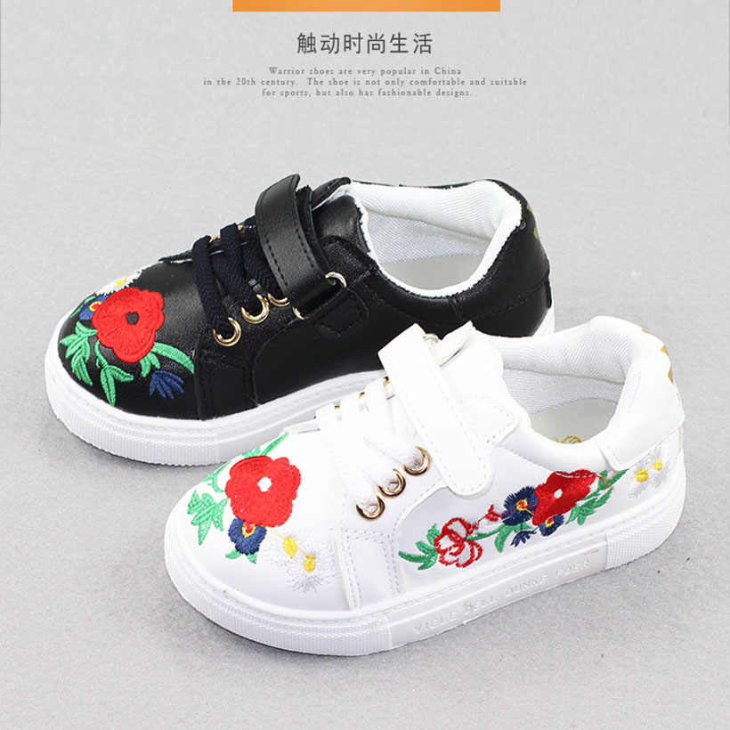 Bunga anak-anak sepatu kasual, Olahraga gadis bernapas sneakers, Anak-anak merek sepatu untuk anak perempuan, Booting datar anak, Musim semi Chaussure Enfant