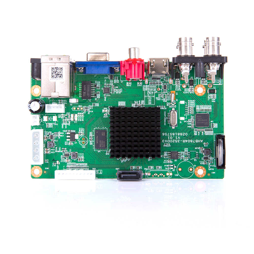 Baru Kedatangan Utama PCB AHD 5MP-N 4 Channel AHD DVR Perekam Video Recorder 4 Channel AHD DVR 1080 P Ahdh untuk 1080 P/5MP AHD Kamera