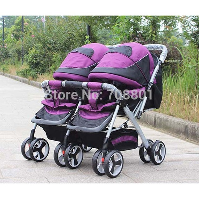 Baby carriage, High quality twins stroller,double seat stroller, shock proof comfortable twin strollers baby carrier pram