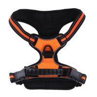 Reflective Large Pet Dog Harness All Weather Service Dog Vest Padded Adjustable Safety Vehicular Lead For