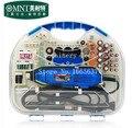 Jóias/relógio kit de polimento, polimento Motor com 161 acessórios de polimento, conjunto completo de polimento motor,