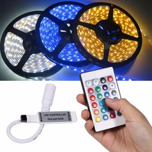 цена на Mini 17/20/24/44 LED RGB Controller Wifi LED RGB Controller for RGB LED Strip 3528 5050 RGB LED Strip Light Remote Controller