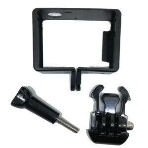 Image 2 - Standard di protezione Telaio per gli Accessori Go Pro Custodia Border + Tripod Mount Adapter + Vite per GoPro Hero 4 3 3 +