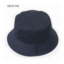 GBCNYIER Casual sun hat cap Fishing Bucket Hats Mountaineering cap unisex cotton two sided wear 9color 10pcs