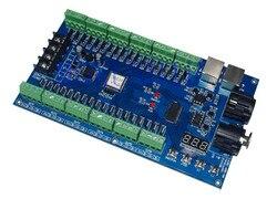 Controlador de atenuación 36CH DMX512, decodificador DMX de 36 canales con salida RGB de 13 grupos, controlador LED DMX512, tira de LED de controlador de 3 pines MAX 3A XRL
