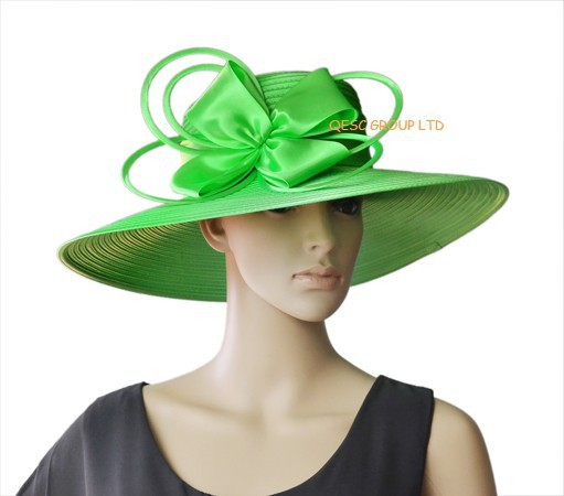 NEW Mint green wide brim big All Year Around Kentucky Derby Church Hat  Wedding Hat Formal Dress Hat for races d23e4d995ec